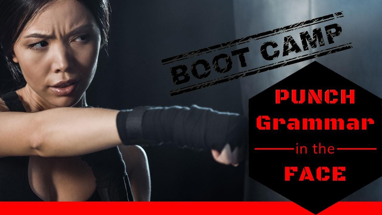Grammar Boot Camp online class