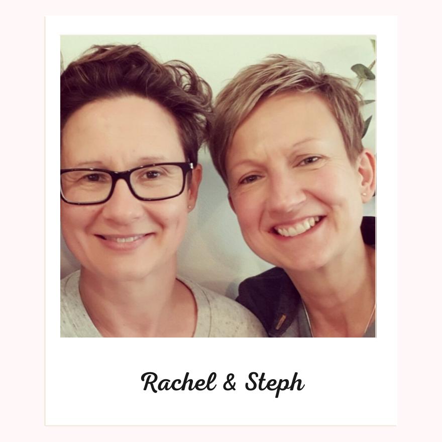 Rachel Sanderson and Steph Rice