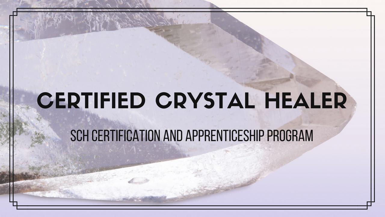 Shamanic Crystal Healer Certification