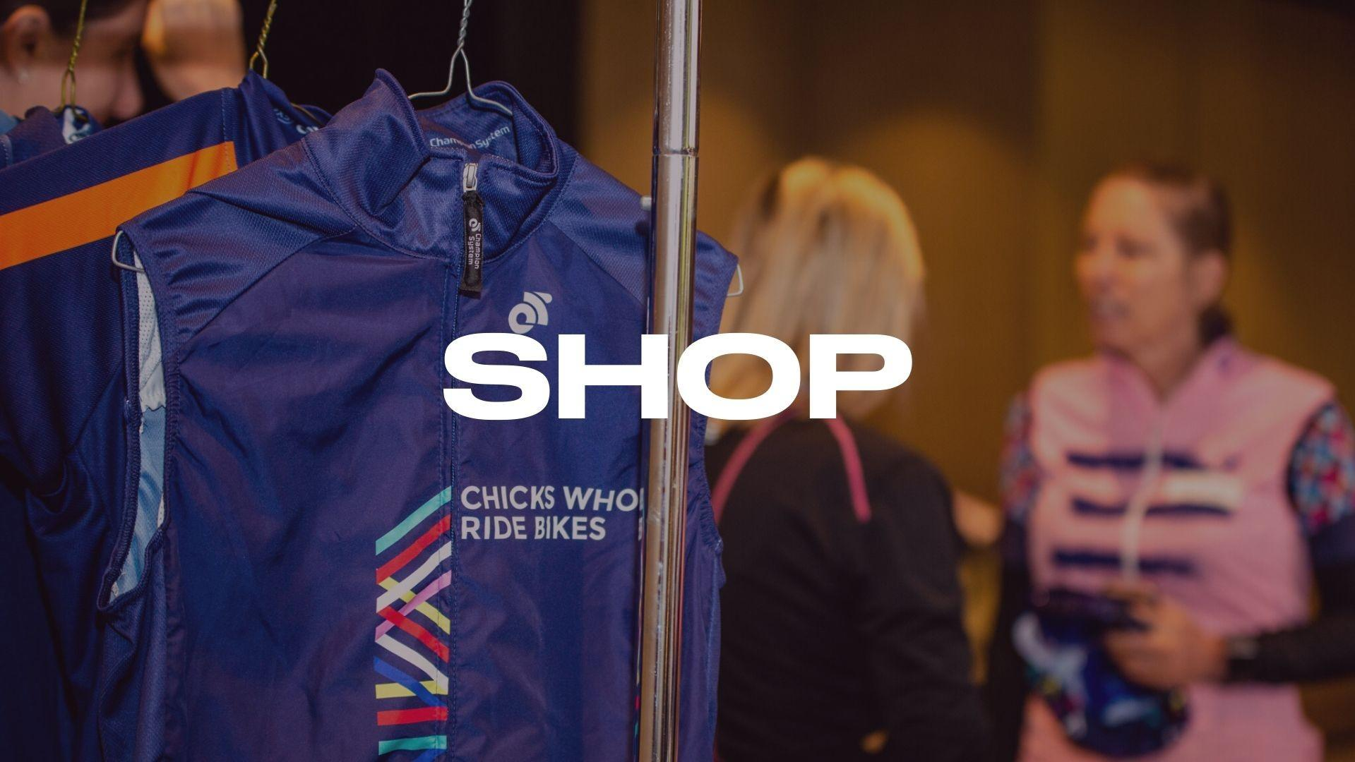 Shop women's cycling with Chicks Who Ride Bikes