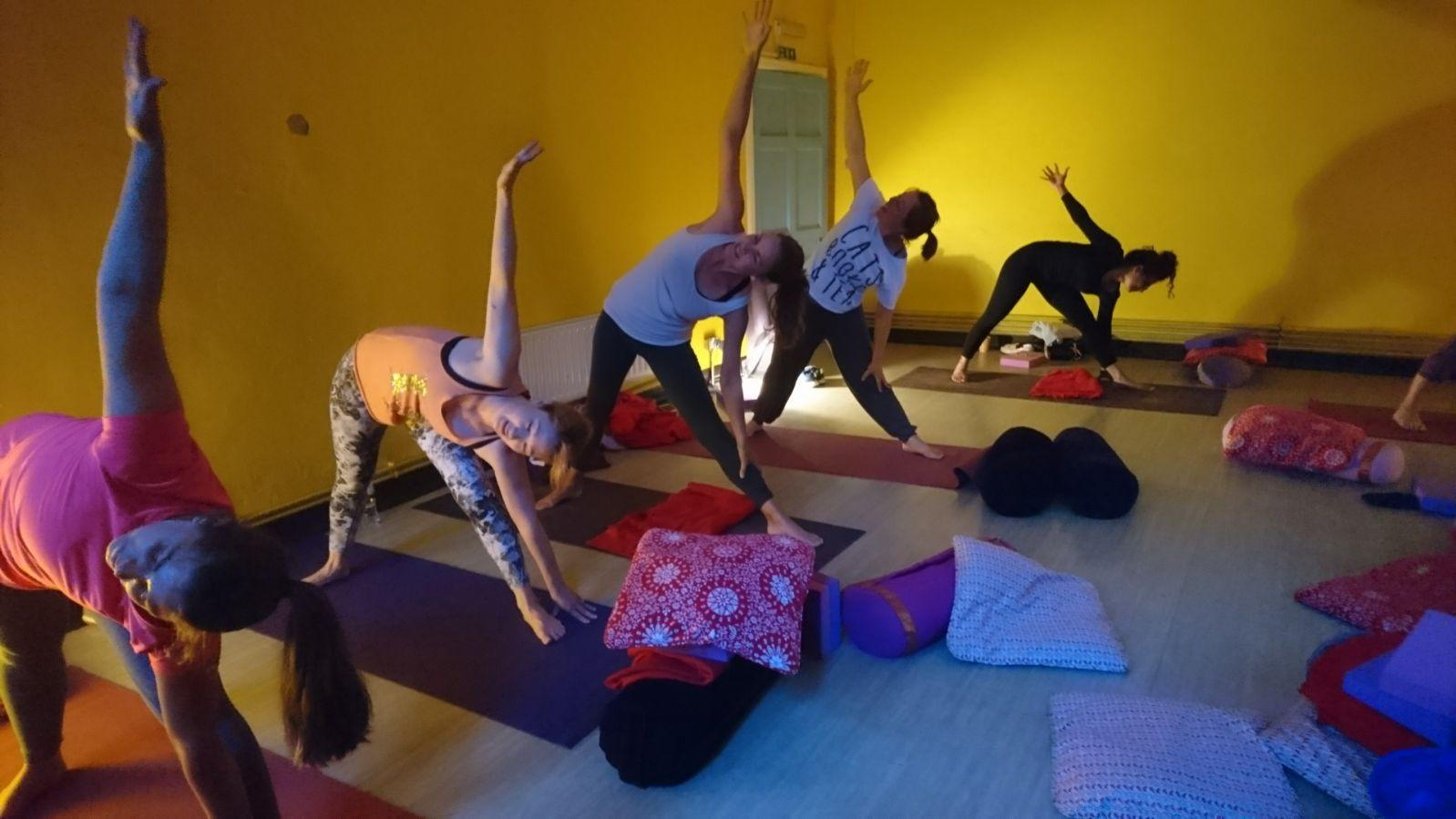 Yoga for Beginners Class at St. Augustine's Church, Croydon