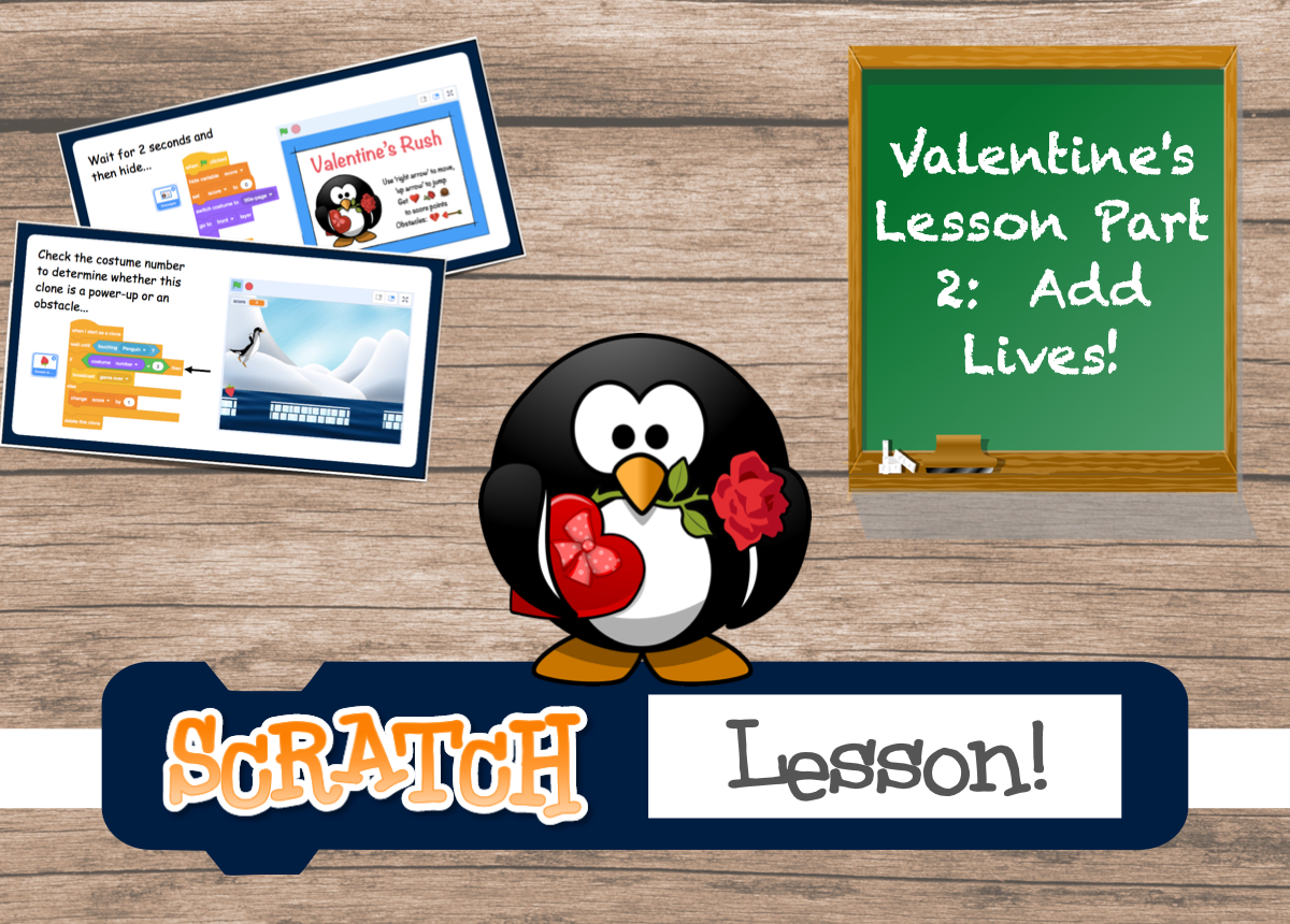 Scratch Valentines Lesson