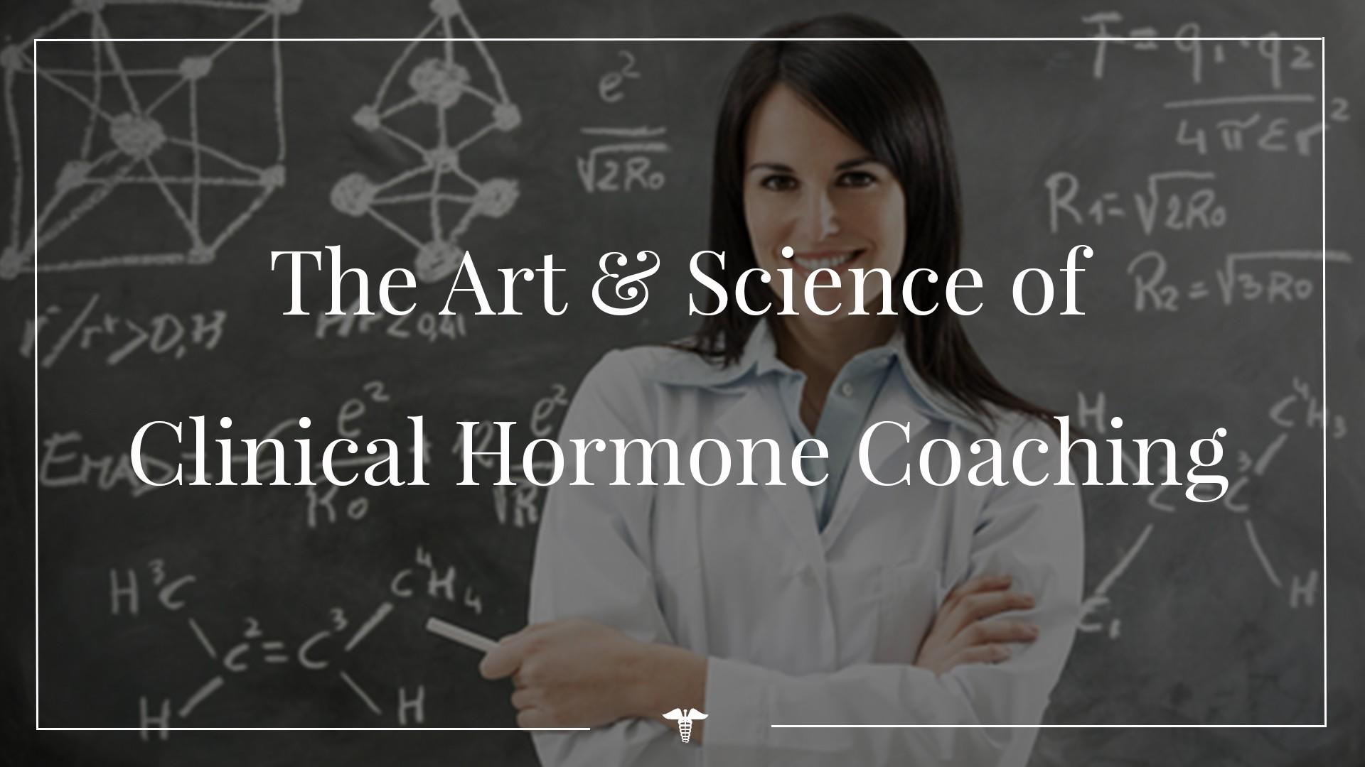 Hormone Coach Training