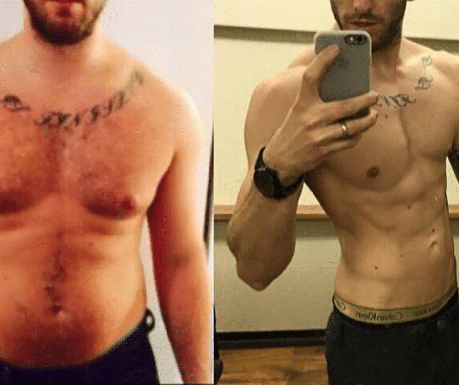 Chris weight loss and body Transformation
