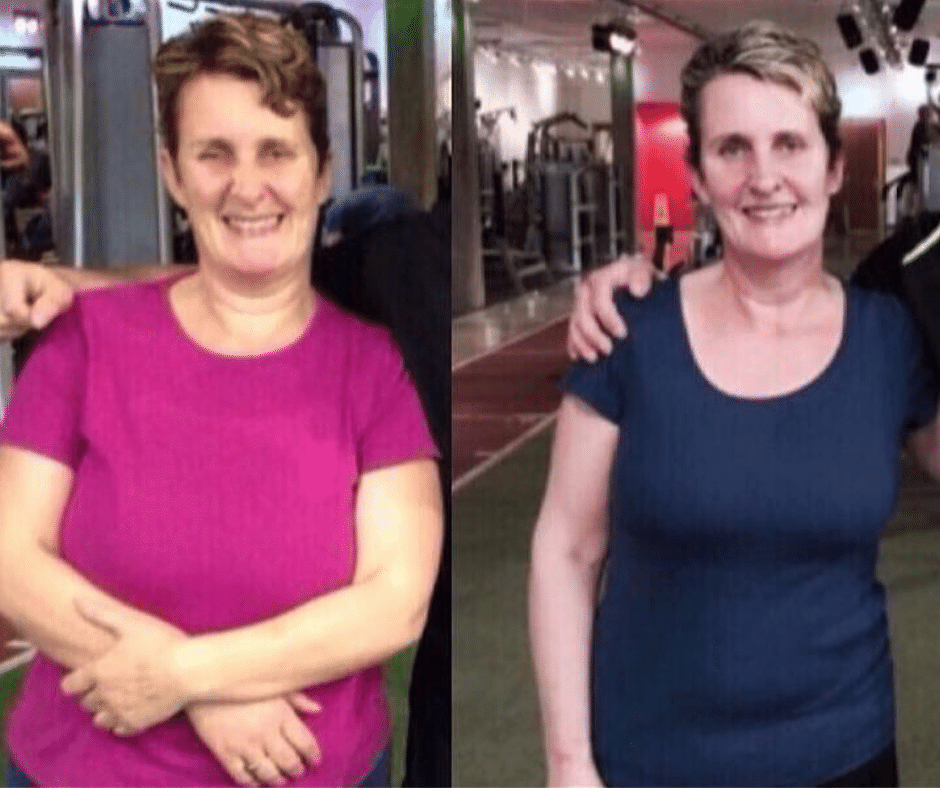 Julie weight loss and body transformation