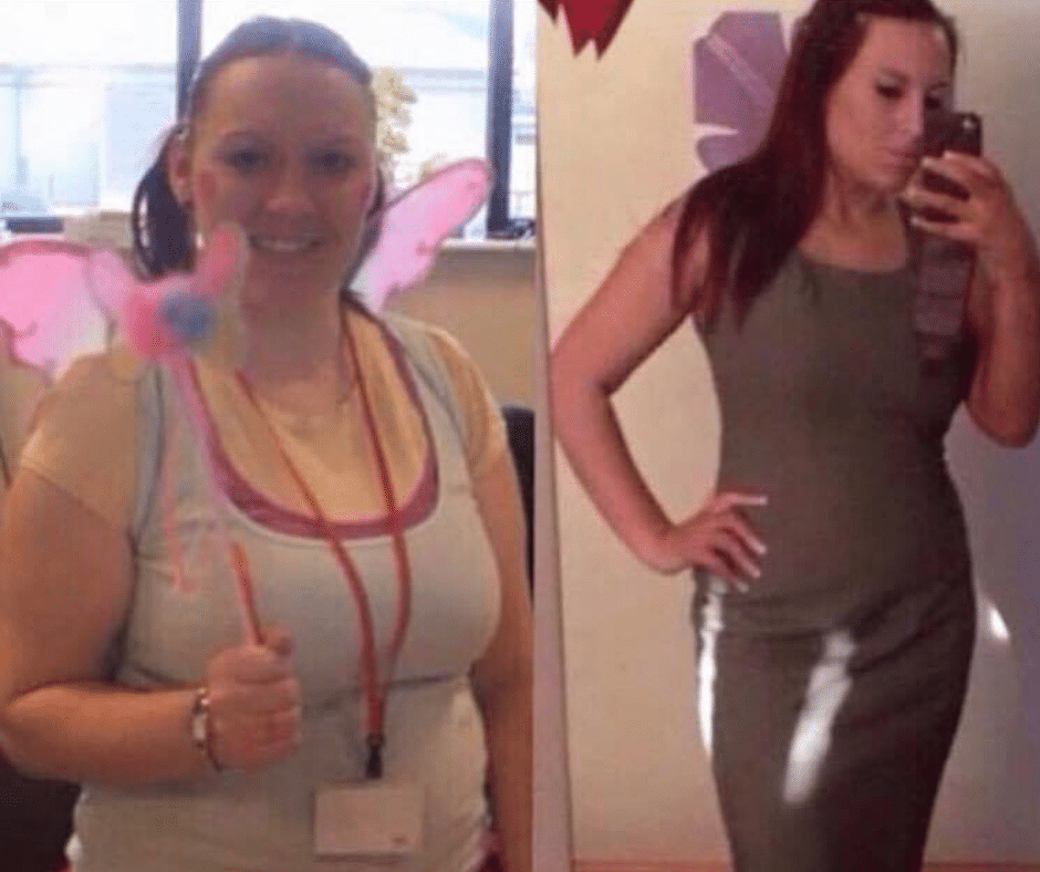 Carrie weight loss and Body transformation
