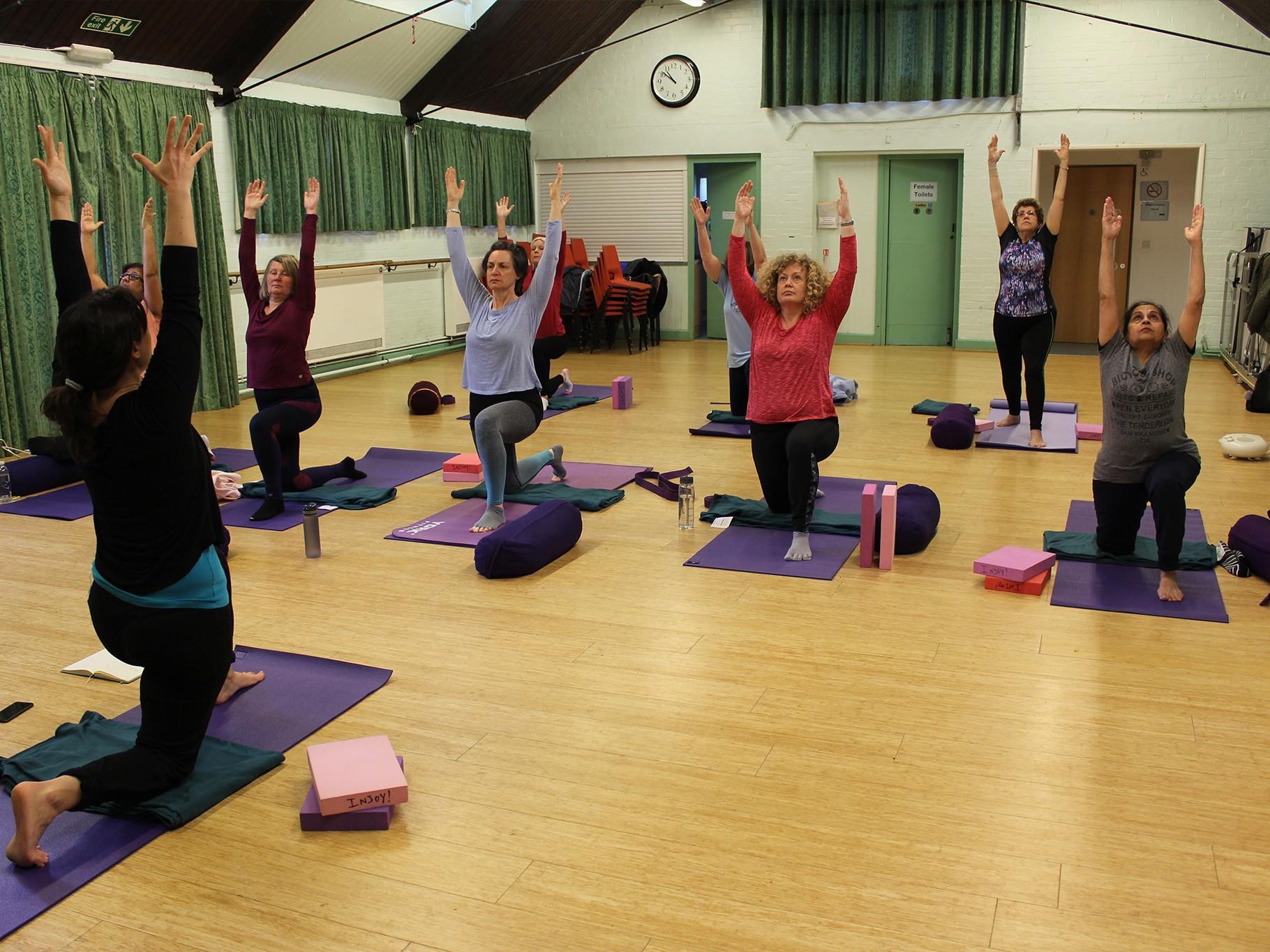 Pregnancy Yoga at St. Augustine's Church, Croydon