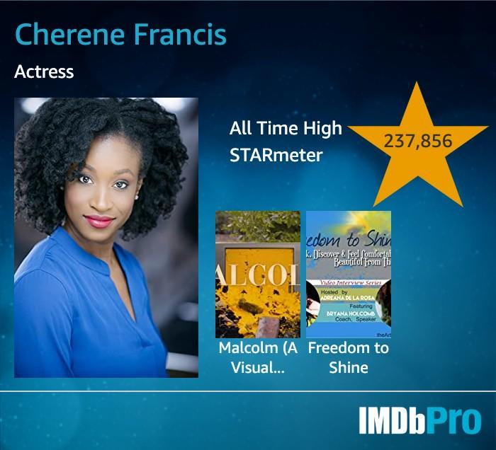 Cherene Francis IMDb