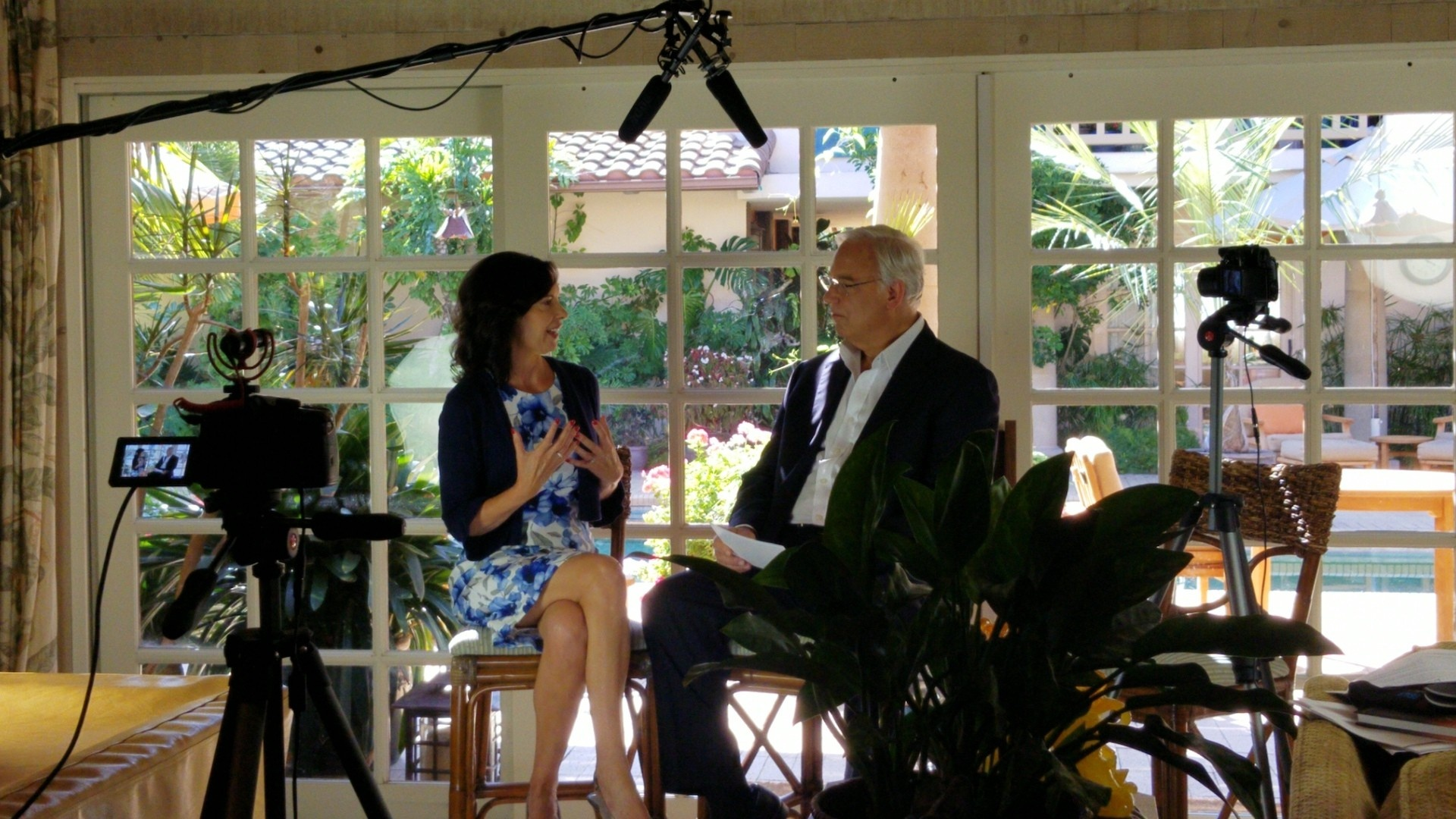 Jack Canfield and Myia Cleggett, Clinical Hypnotherapist