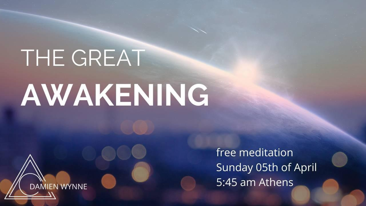 Global meditation April 5.