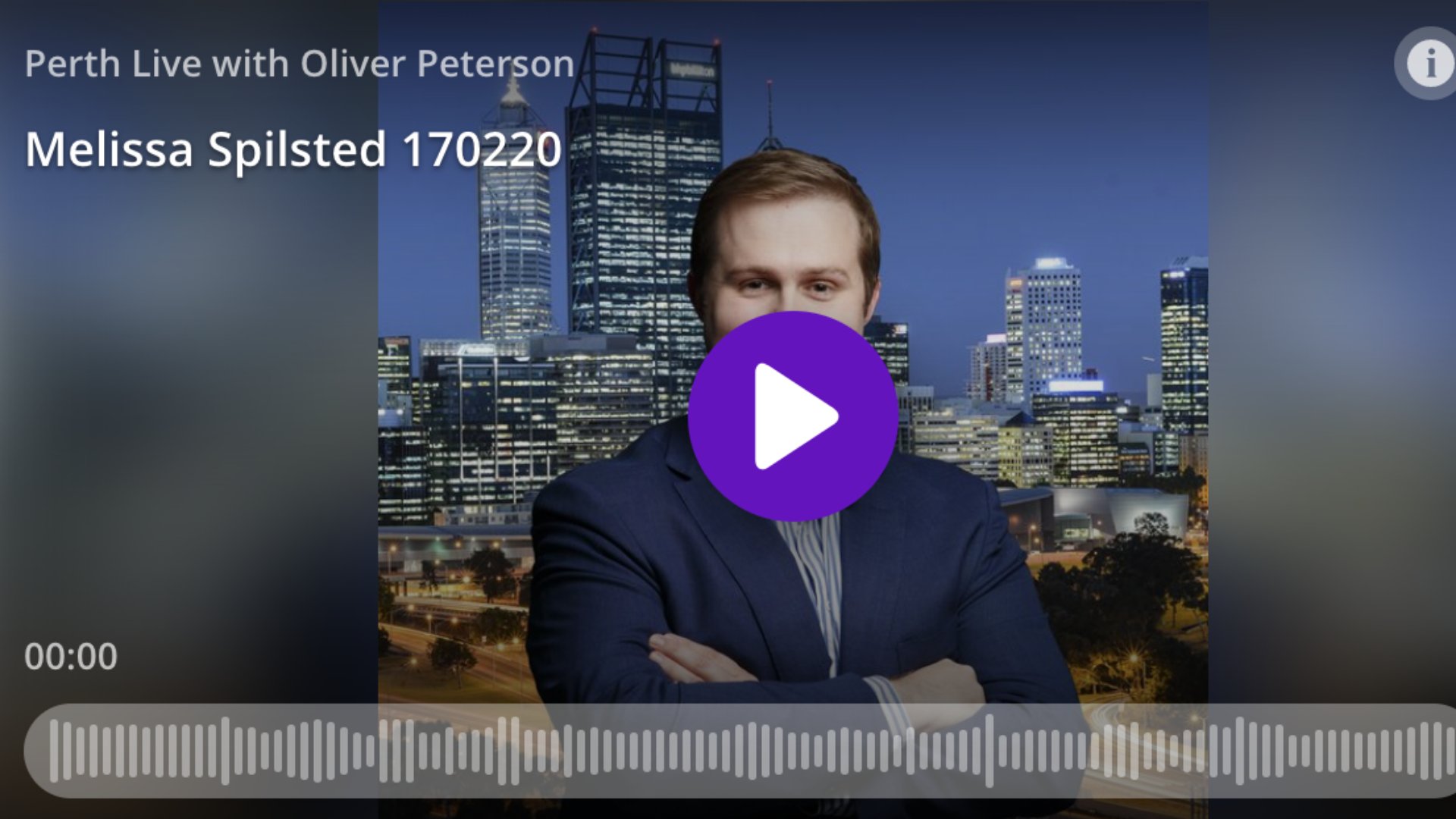 6PR Perth Live with Oliver Peterson (interview with Melissa Spilsted - Hypnobirthing Australia™)