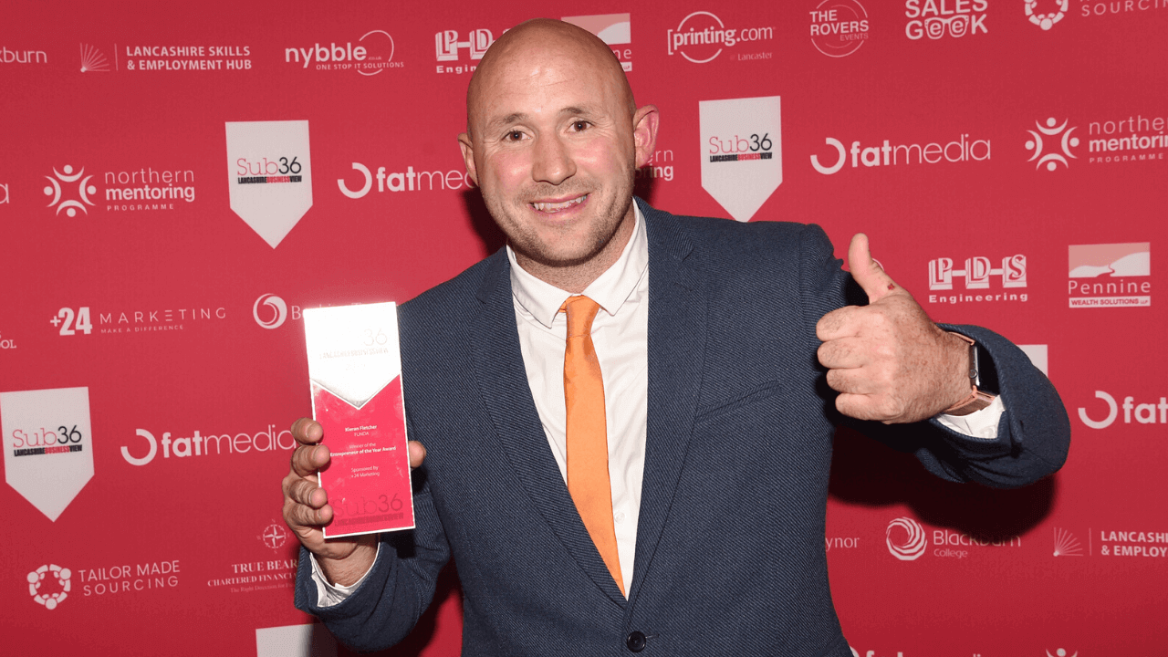 Kieran Wins Entrepreneur Of The Year 2019
