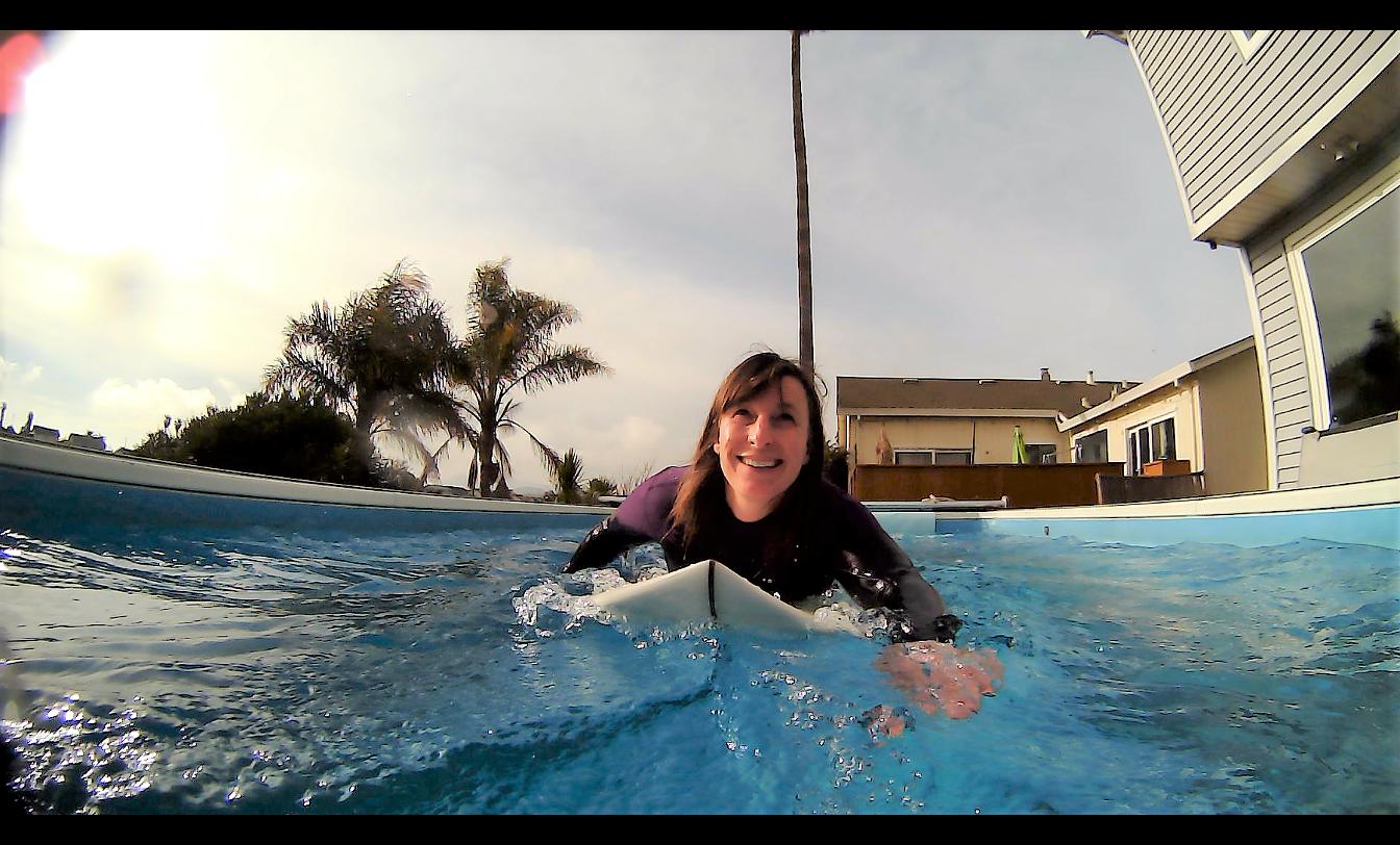 paddling technique testimonial pool