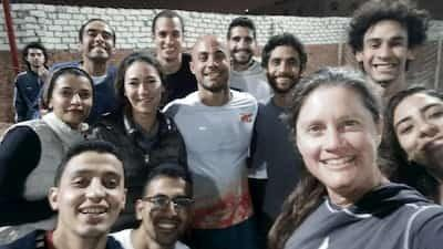 Melissa & UAP Team in Egypt