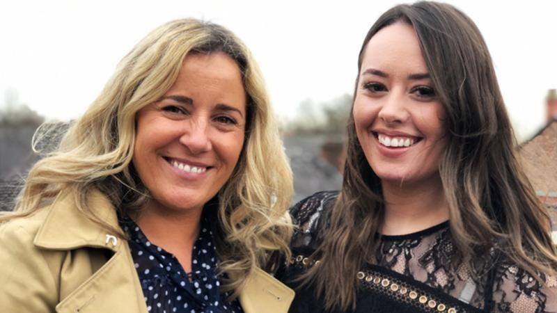 Acting agents Nicola Bolton and Bryony Pulizzi of Regan Talent Group