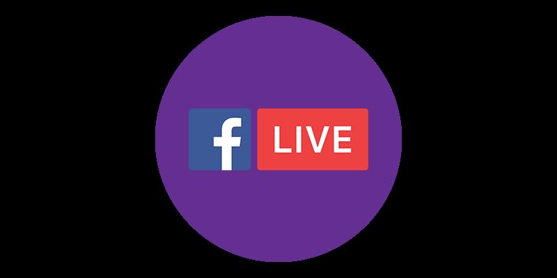 The Facebook Live logo