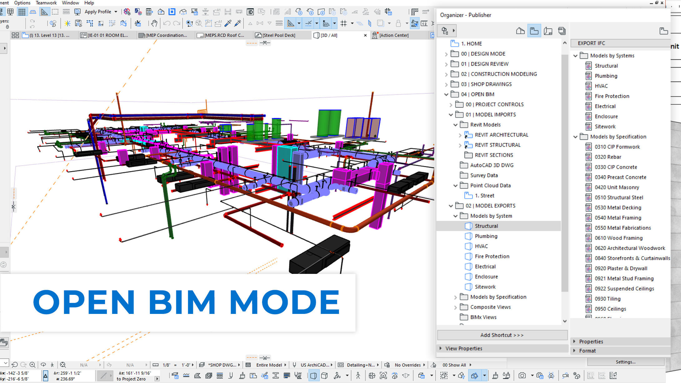 CONTRABIM Open BIM Mode