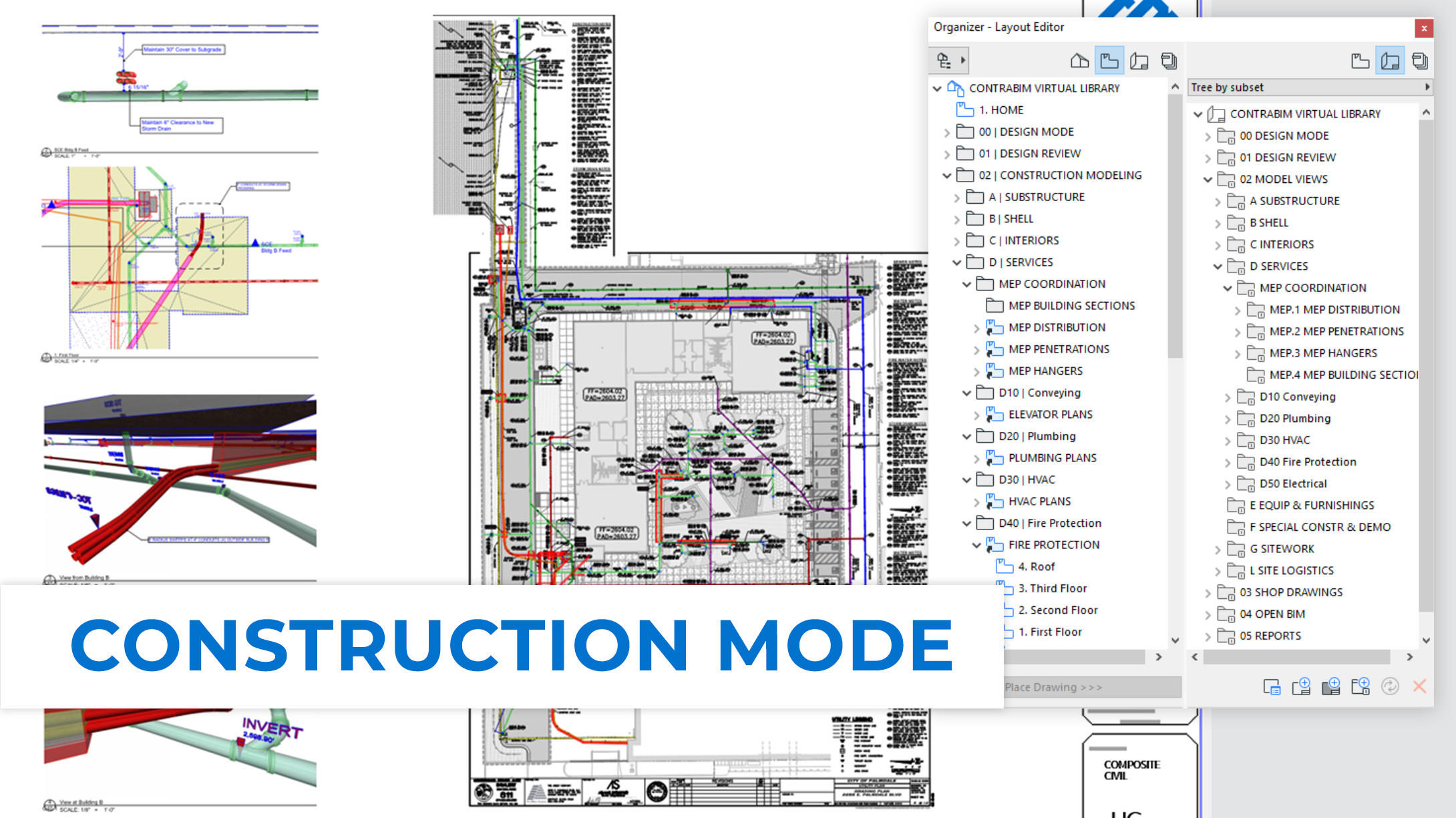 CONTRABIM Construction Mode