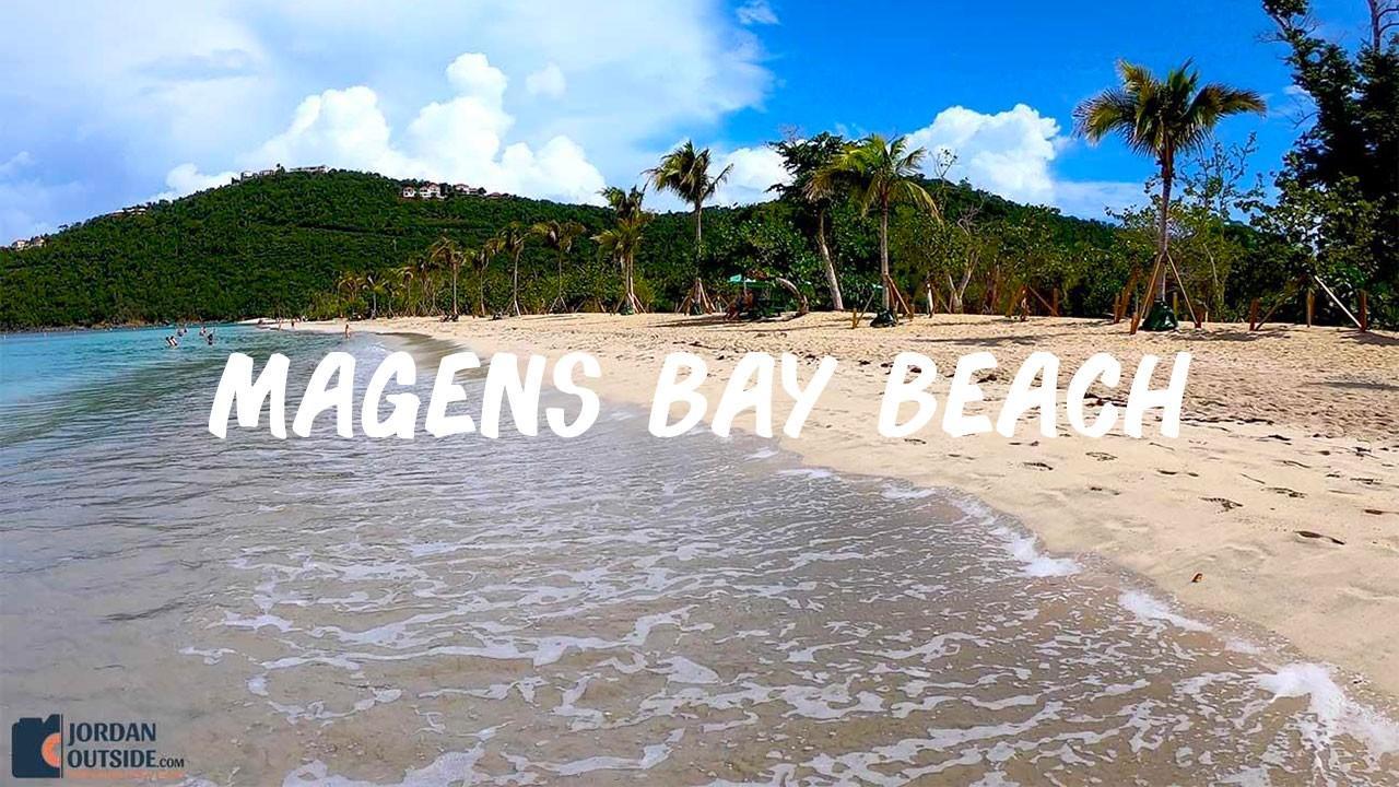 Magen's Bay Beach in St. Thomas