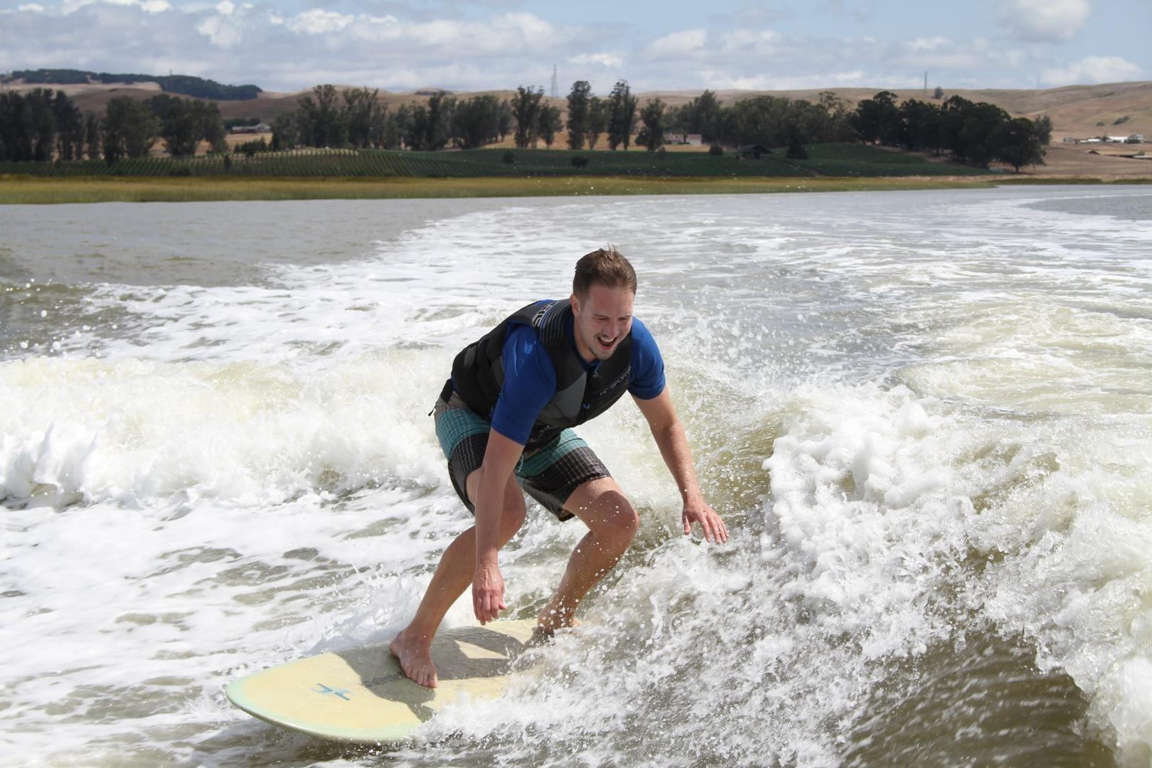 surf technique training face of joy
