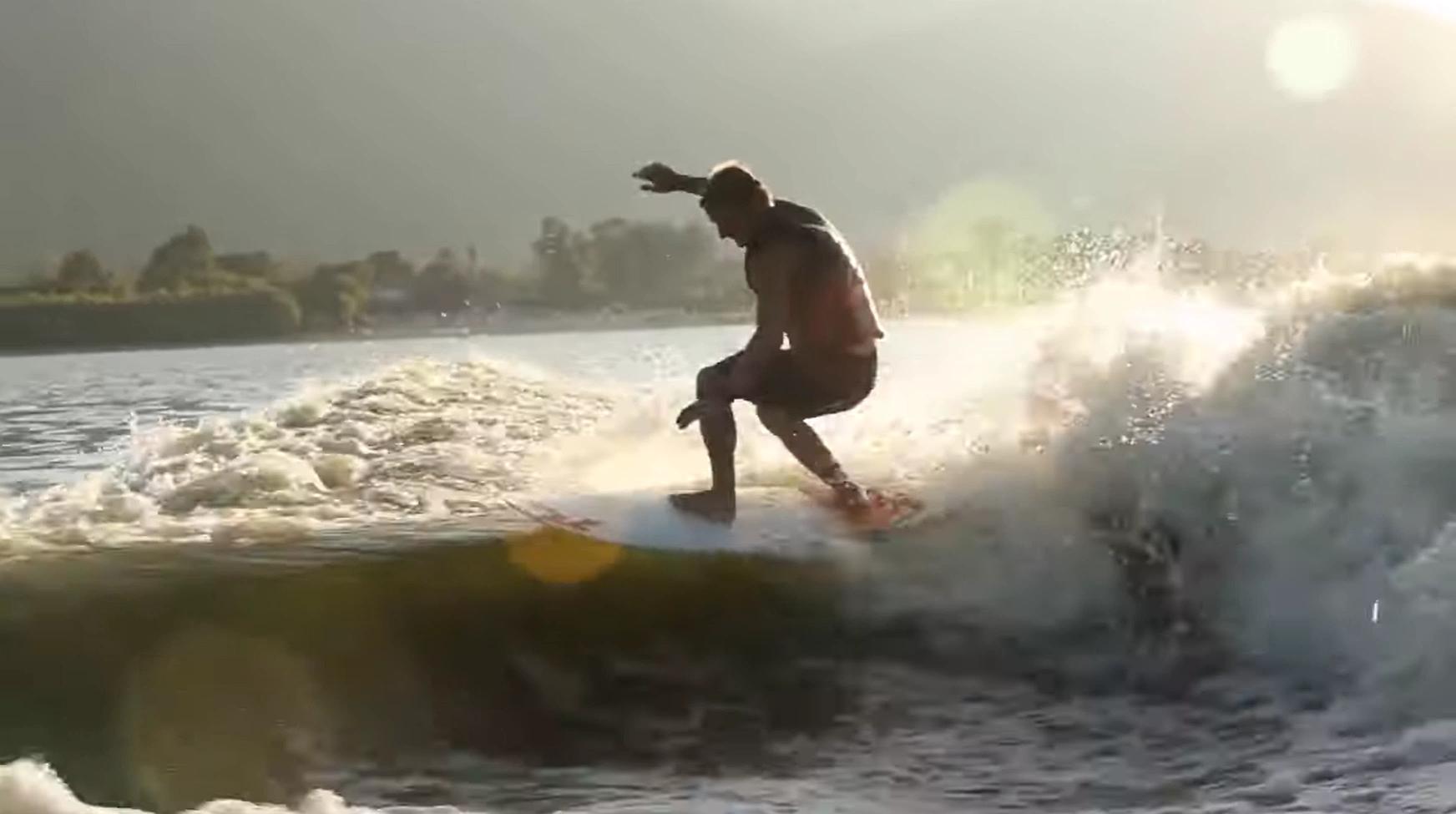surf technique training floater
