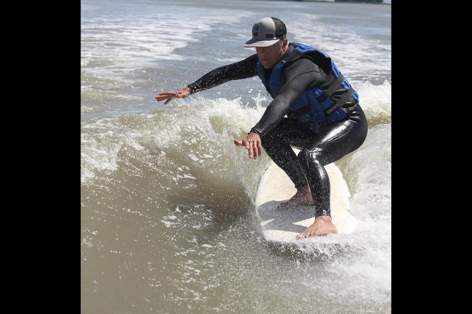 surf technique training hang 5