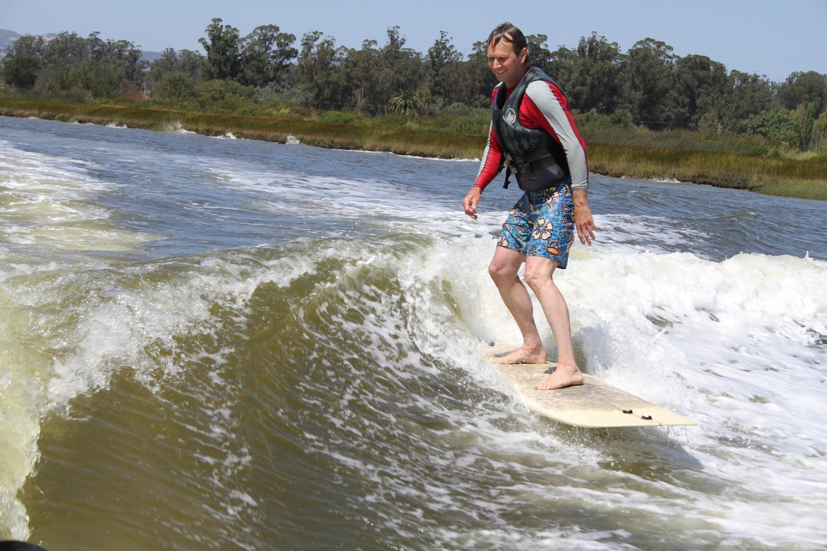 surf technique training trimming happy