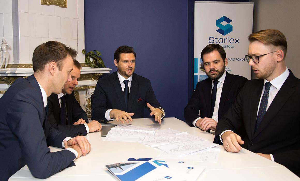 Starlex investment pārvaldības pakalpojumi īpašniekiem