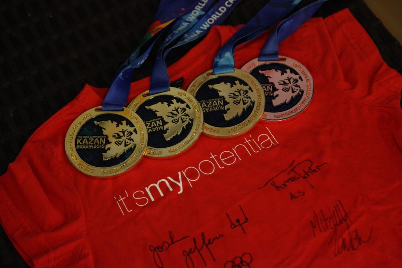 Medals from Kazan