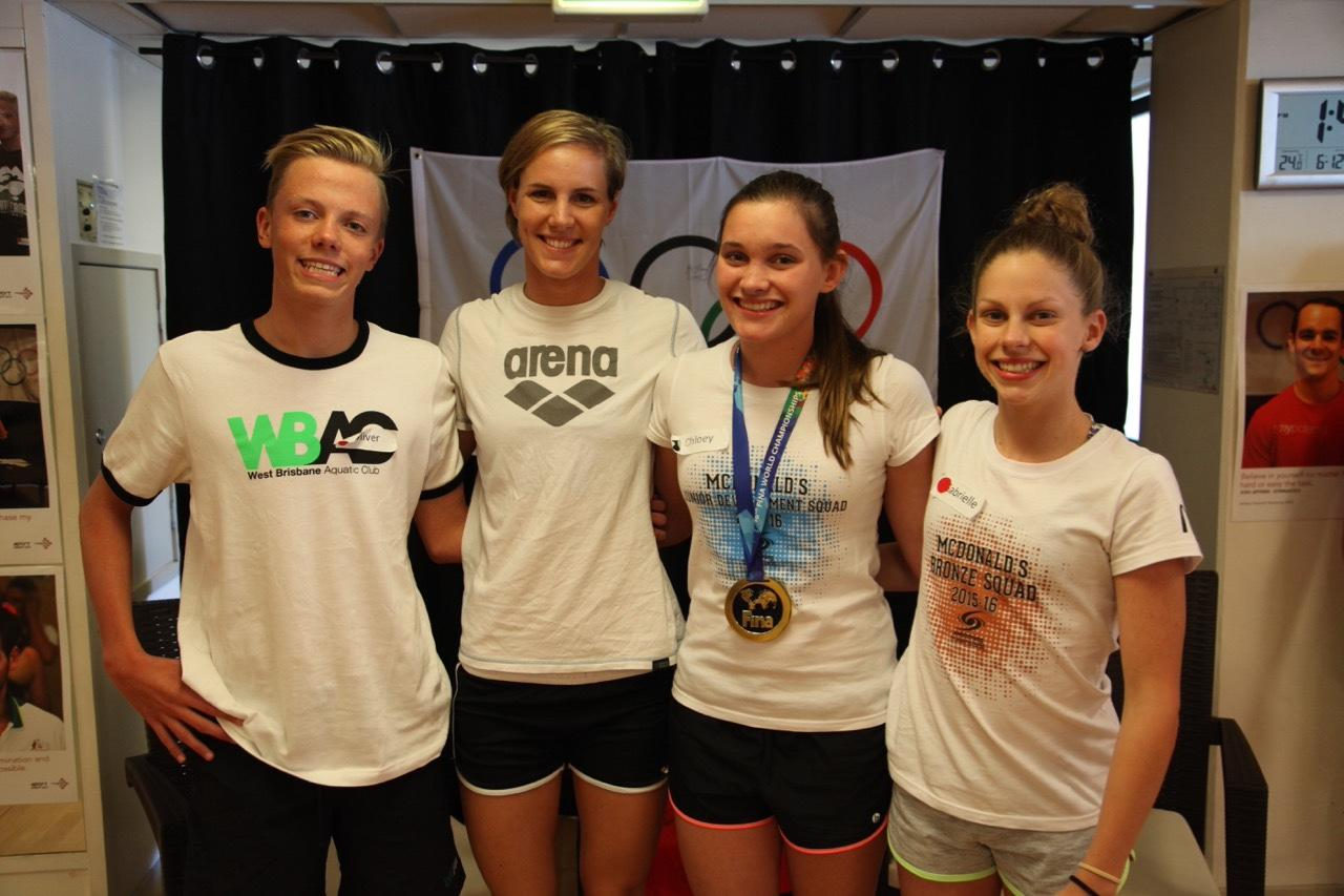 Bronte and the challenge winners