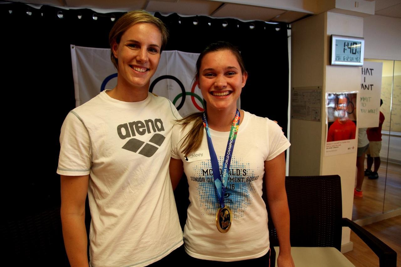 Gold medal game winner