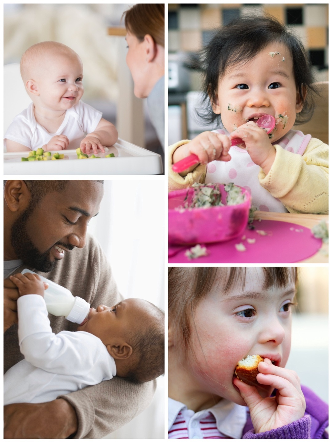 babies and children in feeding therapy
