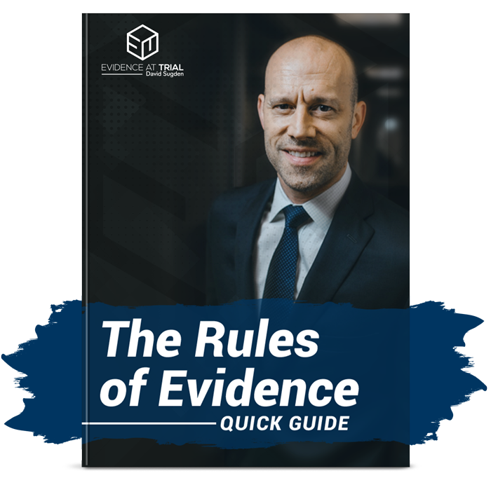 The Rules of Evidence Cheat Sheet image