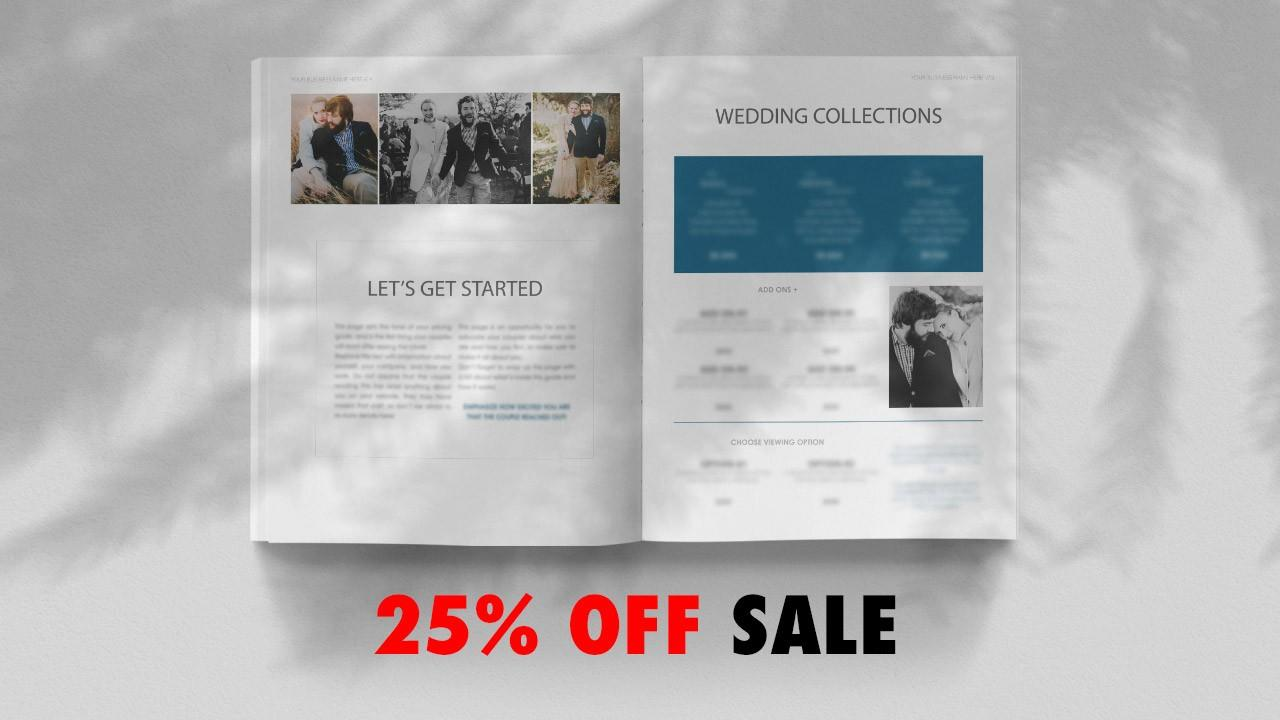 Pricing Guide Template for Wedding Filmmakers