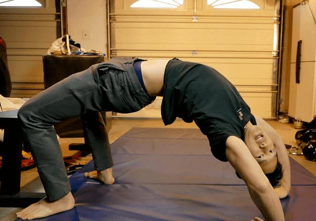 matt hsu with no back pain