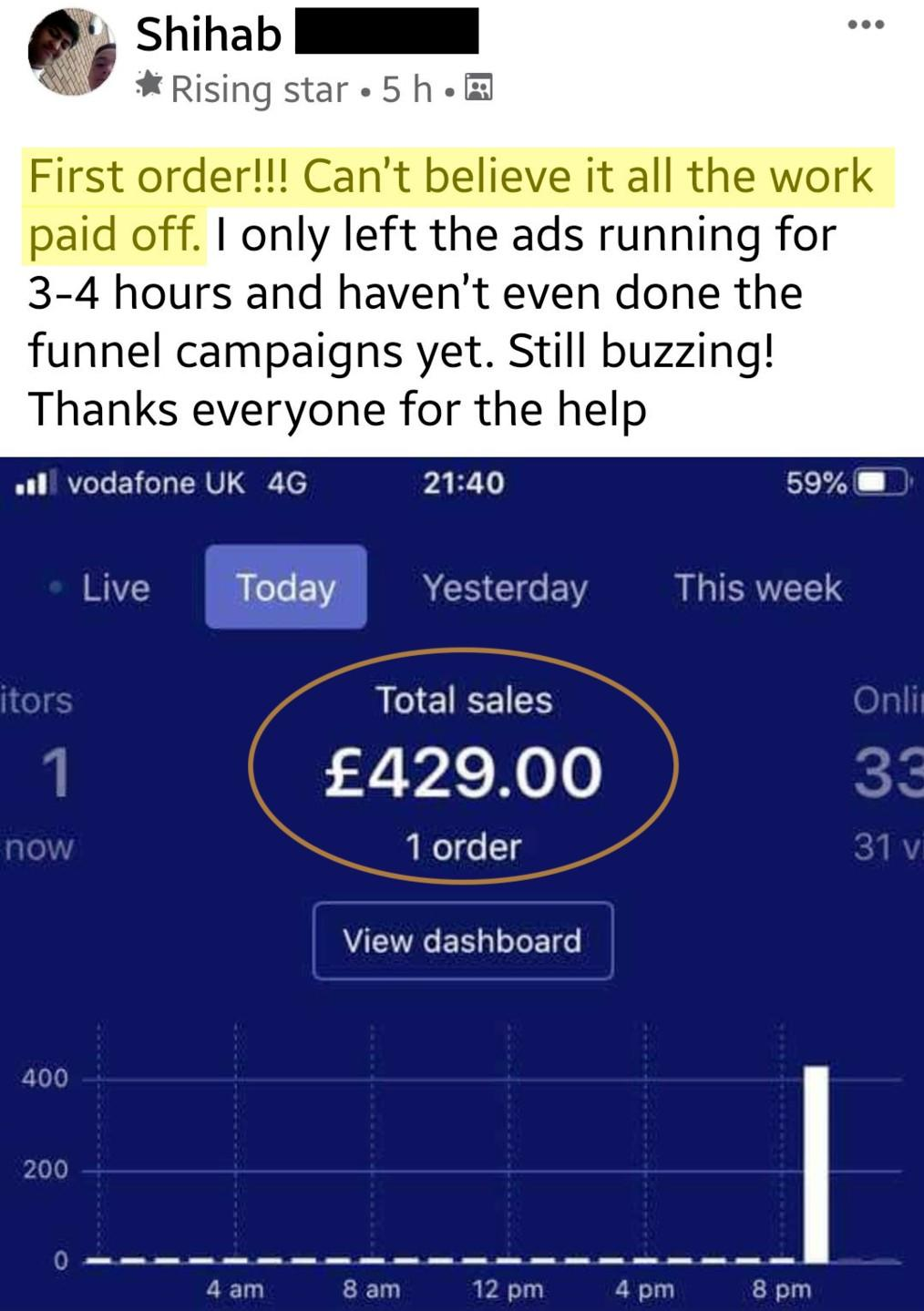 High ticket UK drop shipping screenshot 9
