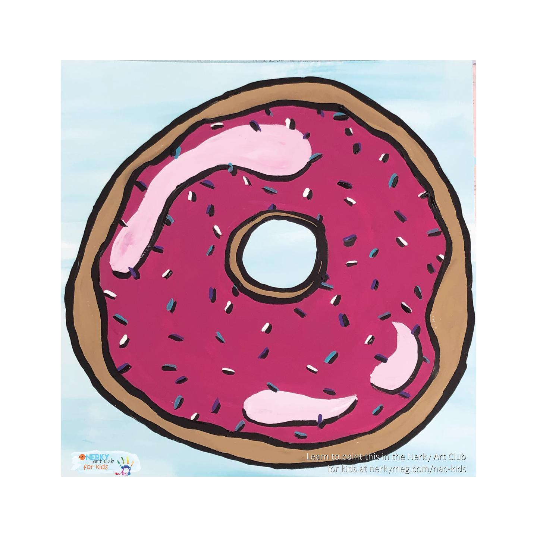 Donut Pop Art