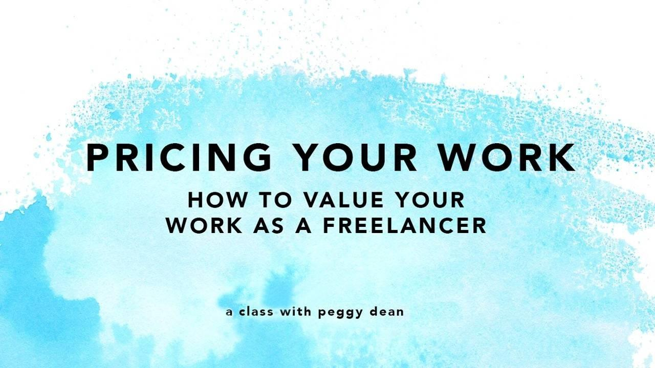 how to price your work