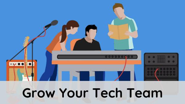 Grow Your Tech Team course