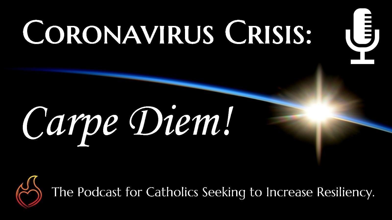 Coronavirus Crisis: Carpe Diem logo