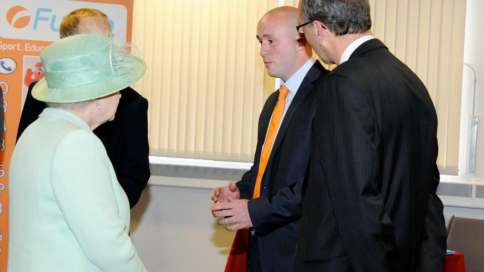 Kieran Fletcher Meets The Queen