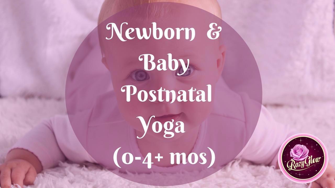 Baby & Postnatal Yoga (4 mos+) Online