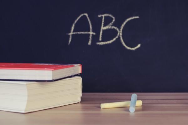 abc basics on chalkboard