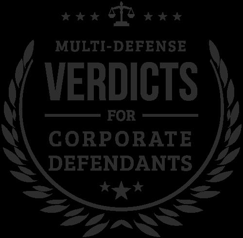 multi defense verdicts