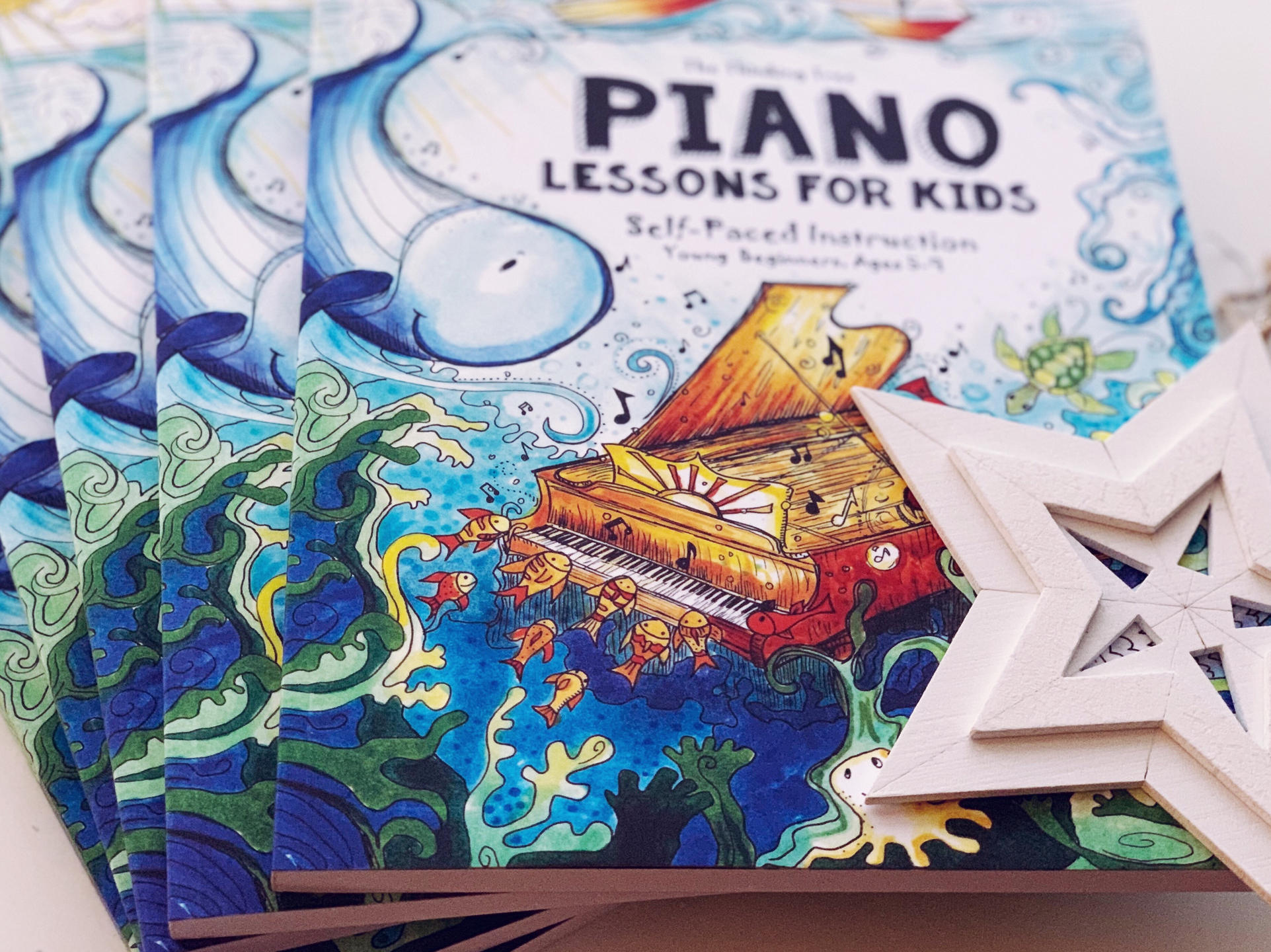 Piano Lessons for Kids Book