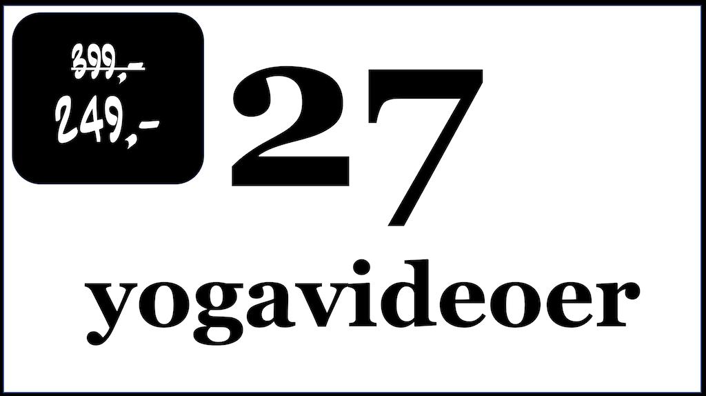 Plakat for 27 yogavideoer
