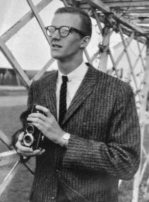 1960ish: My Dad My Dad was shooting pics for the local newspaper in his teens. No wonder I like to shoot photos.