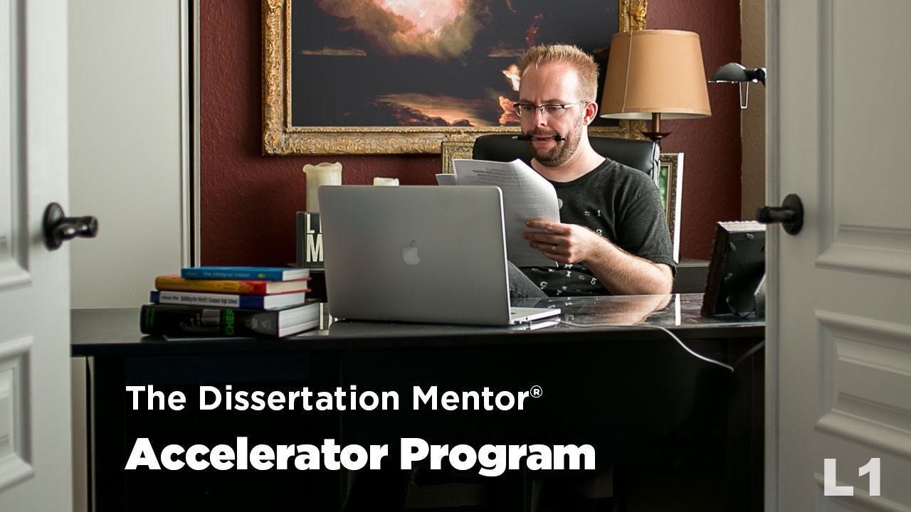 The Dissertation Mentor Accelerator Program