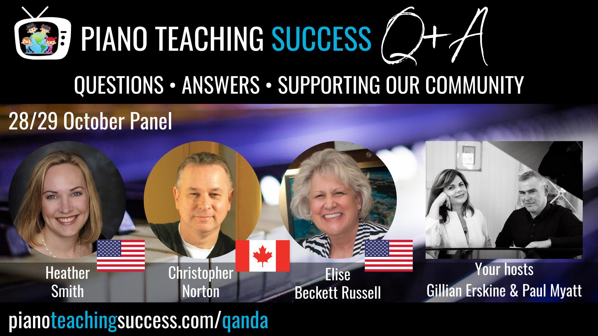 Dorla Aparicio & Katie Polie Panelists Q+A Ep20