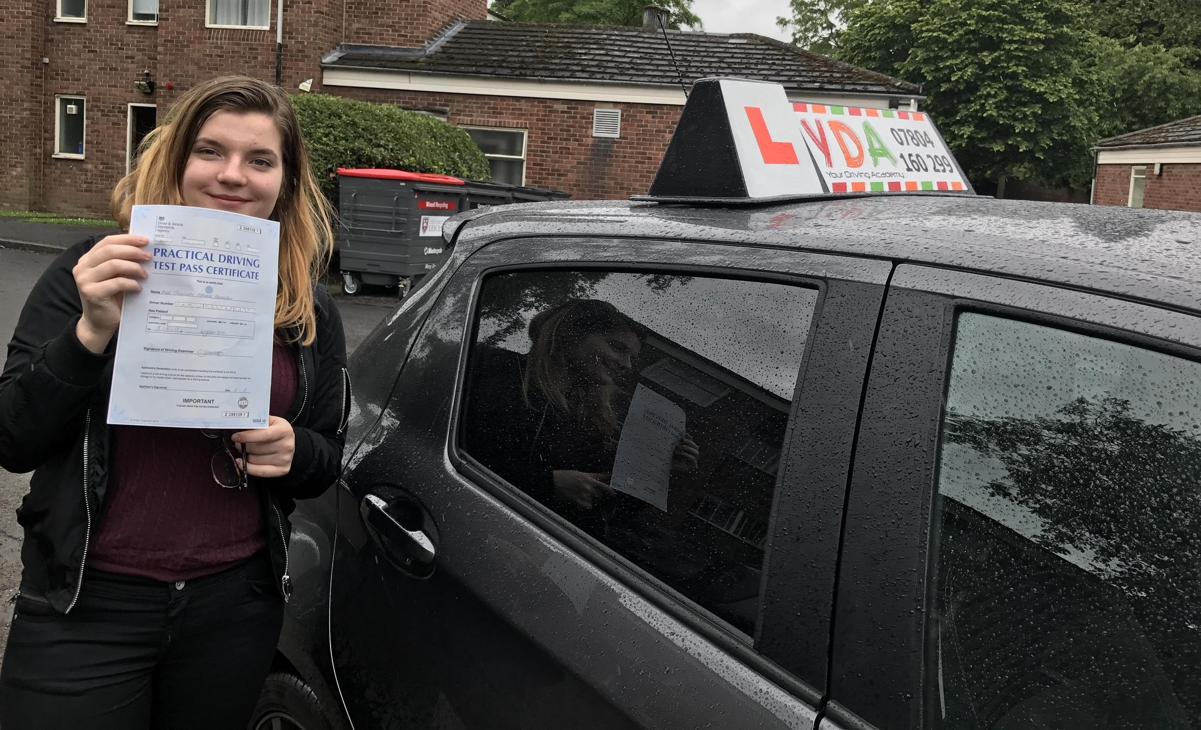Leicester Driving Instructors - Charlotte Hamilton